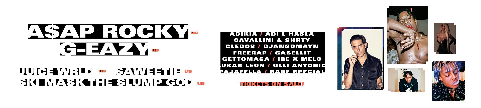 Blockfest artists